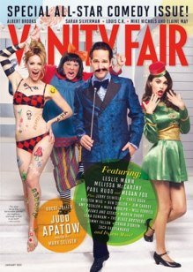 Vanity Fair cover Comedy Edition - January 2013.